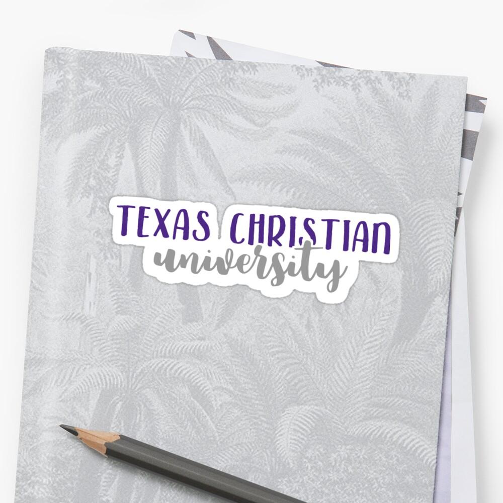 Texas Christian University by Pop 25