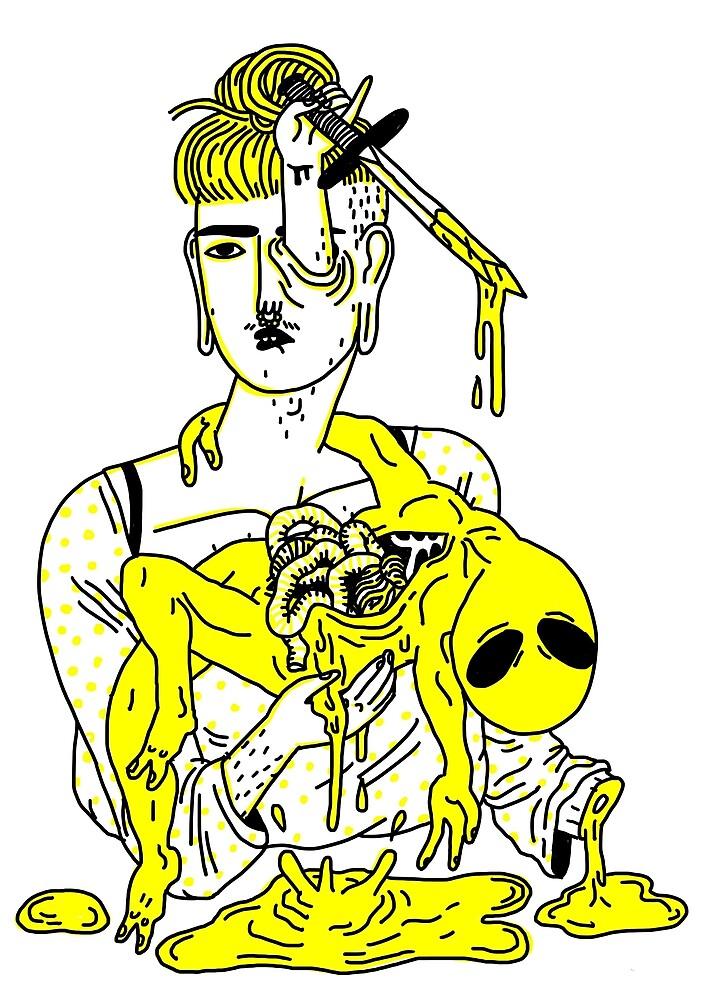 Dead Alien Baby by Philip Dearest