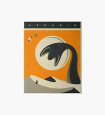 ARRAKIS TRAVEL POSTER Art Board