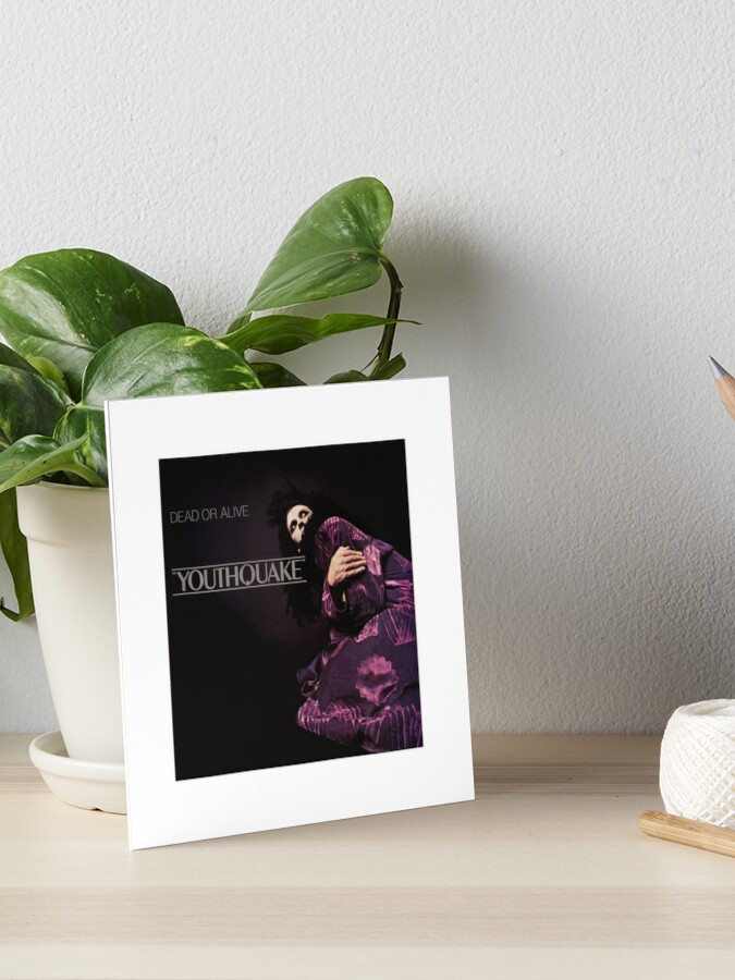 Dead Or Alive Youthquake Art Board Print By Dylannn Redbubble