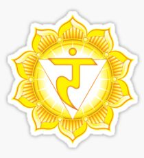 Solar Plexus Chakra - Awareness Sticker