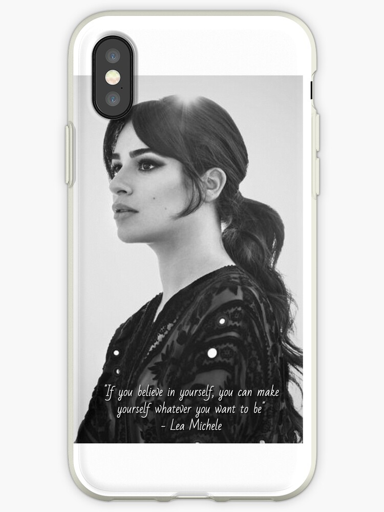 Lea Michele Quote Part Two - Many Items Available by fandomxclothing