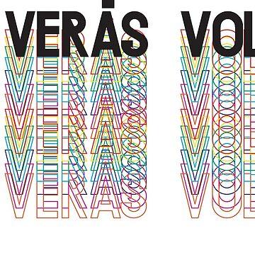 Soda Stereo - Me Verás Volver print by anaiseguez
