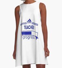 TEACHER A-Line Dress