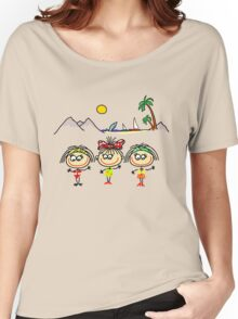 Funny people Girls and Boys Women's Relaxed Fit T-Shirt