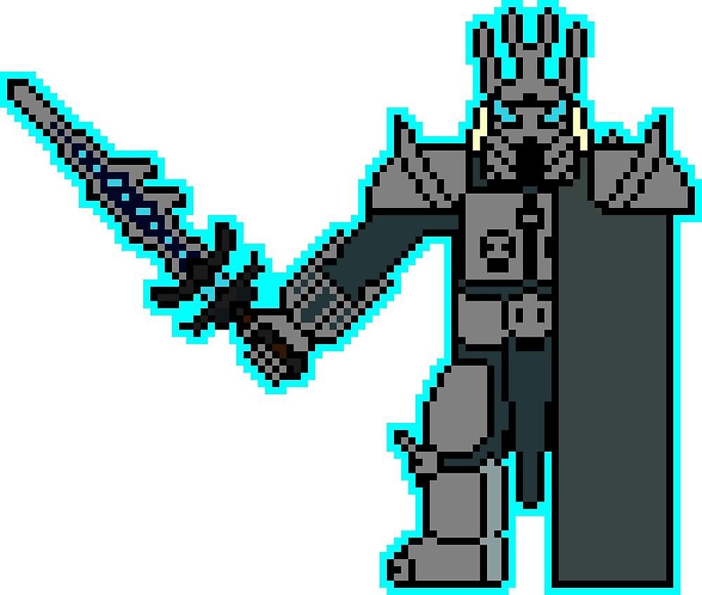 Pixel Lich King by NuclearPotato