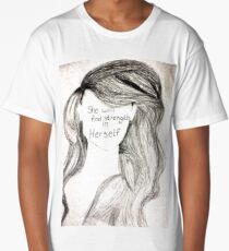 She Will Find Strength in Herself Long T-Shirt