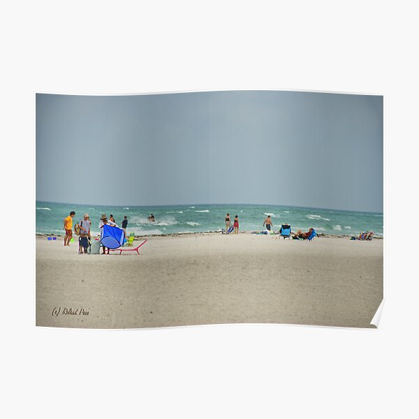 Great Day for Surfing Poster