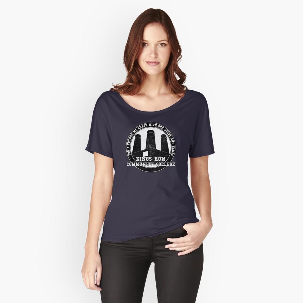 CITY OF HEROES UNIVERSITY SHIRTS - Kings Row Relaxed Fit T-Shirt