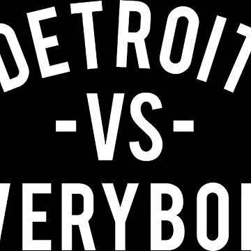 a detroit and everybody by mouaadestokvis