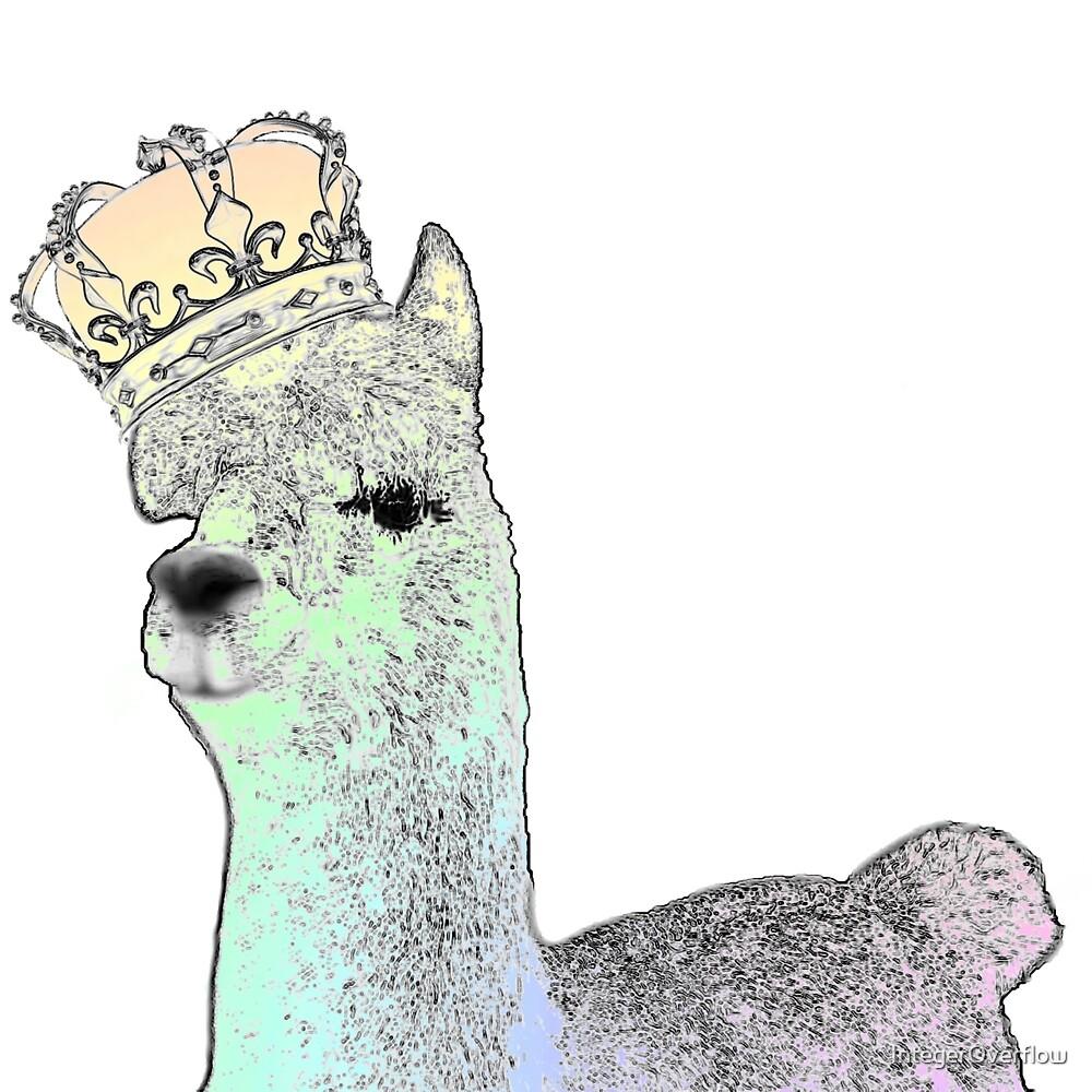 Rainbow Alpaca by IntegerOverflow