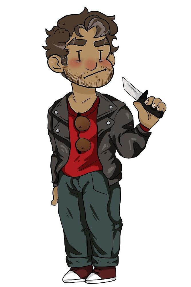 Knife Dad (Dream Daddy) by mttegg