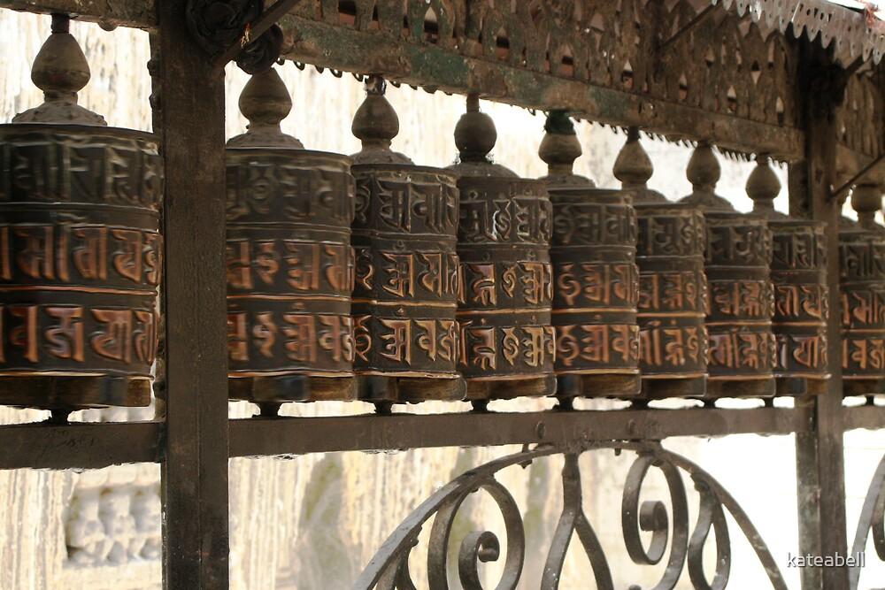 Swayumbunath Prayer Wheels by kateabell