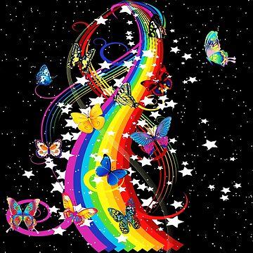 Butterfly Rainbow by bettycruz