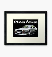 Classics Passion 013 Ford Capri Framed Print