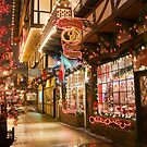 Holiday Window Shopping by Tracy Riddell