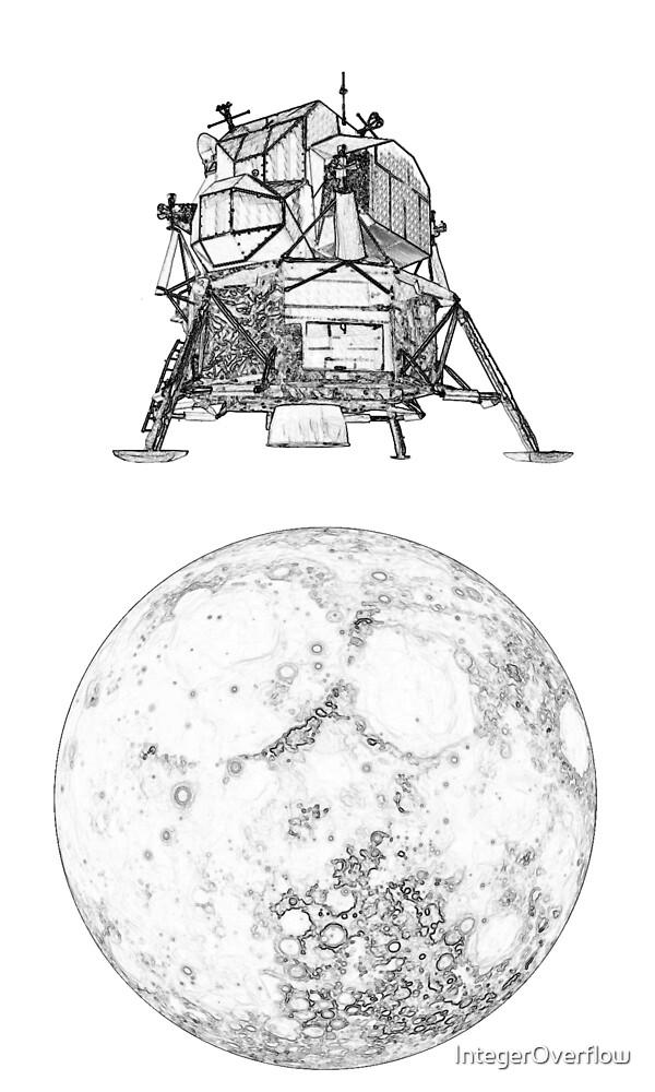 Mini Lunar Lander by IntegerOverflow