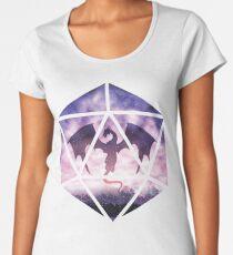 Purple Sky Dragon D20 Women's Premium T-Shirt