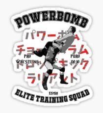 Powerbomb Elite Training Squad Sticker