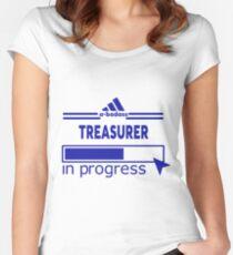 TREASURER Women's Fitted Scoop T-Shirt