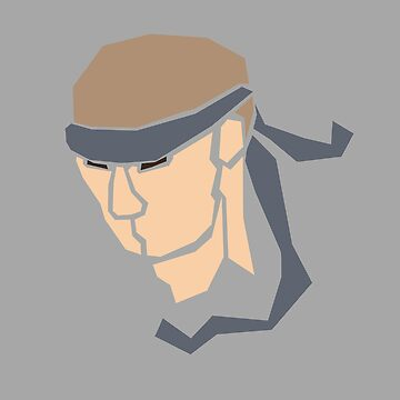 Solid Snake by HalfEatenCandy