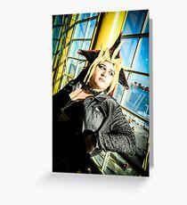 Yu Gi Oh Greeting Card