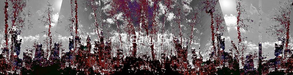 Dark landscape by GaryJS