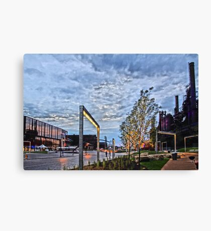 Steelstacks Campus Canvas Print