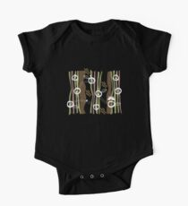 Whimsical Retro Owls Family II Kids Clothes