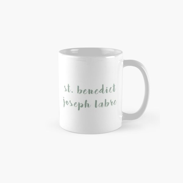 St. Benedict Joseph Labre Classic Mug