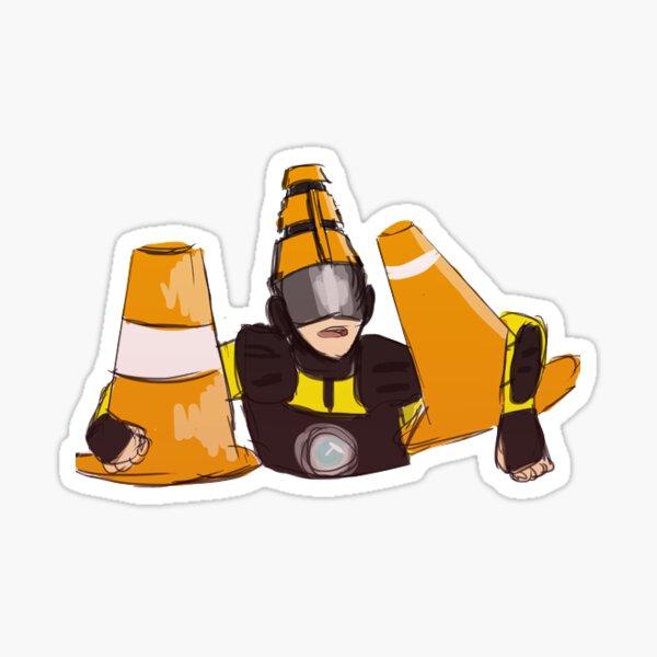 cone boy Sticker
