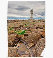 Rugged Akranes Coast Poster