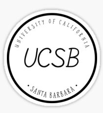 UCSB Sticker