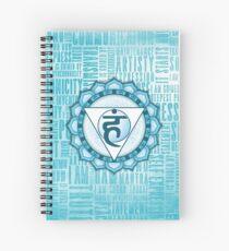 Throat Chakra - Awareness Spiral Notebook