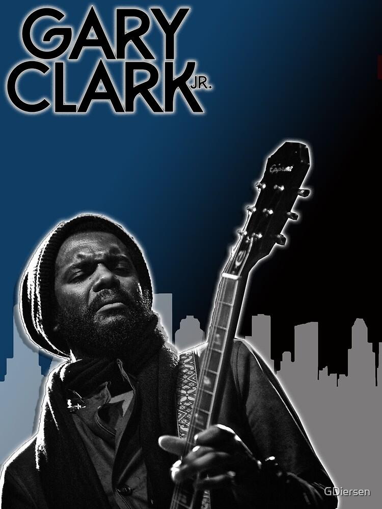 Gary Clark Jr. - Houston Skyline by GDiersen