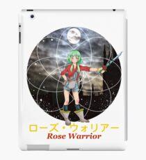 Rose Warrior Anime iPad Case/Skin