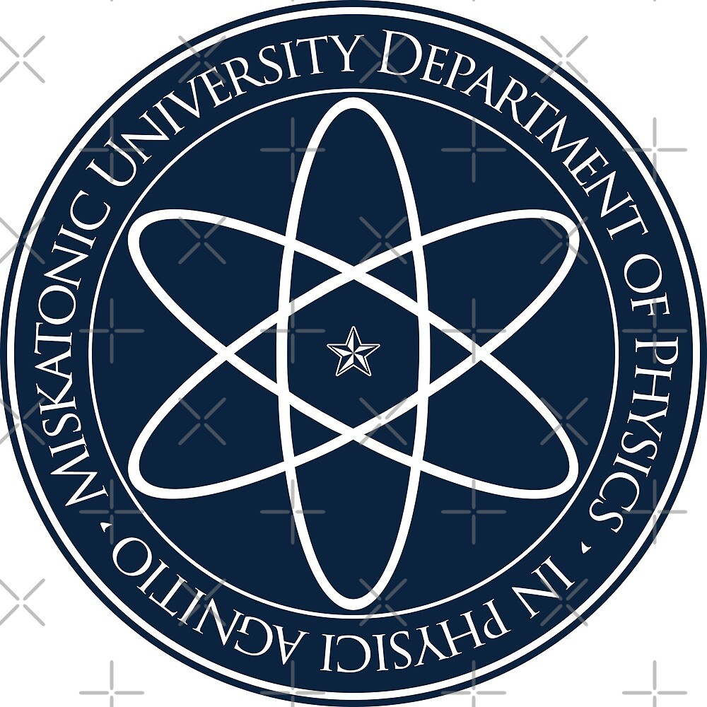 Miskatonic University Physics Department Crest by Allyson Hall