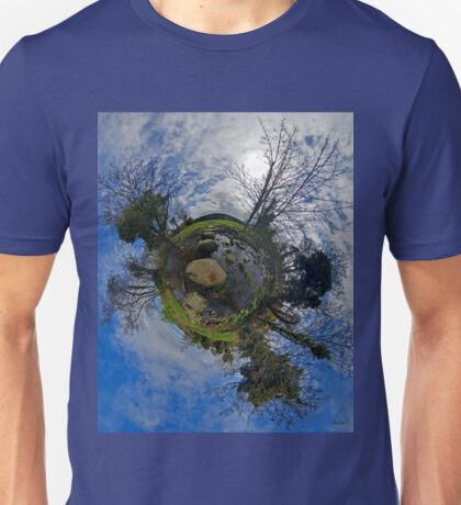 Stepping Stones Across Kilkeel River, County Down T-Shirt