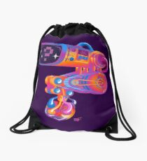 Dave's Heart Monitor - InstaChrome Drawstring Bag