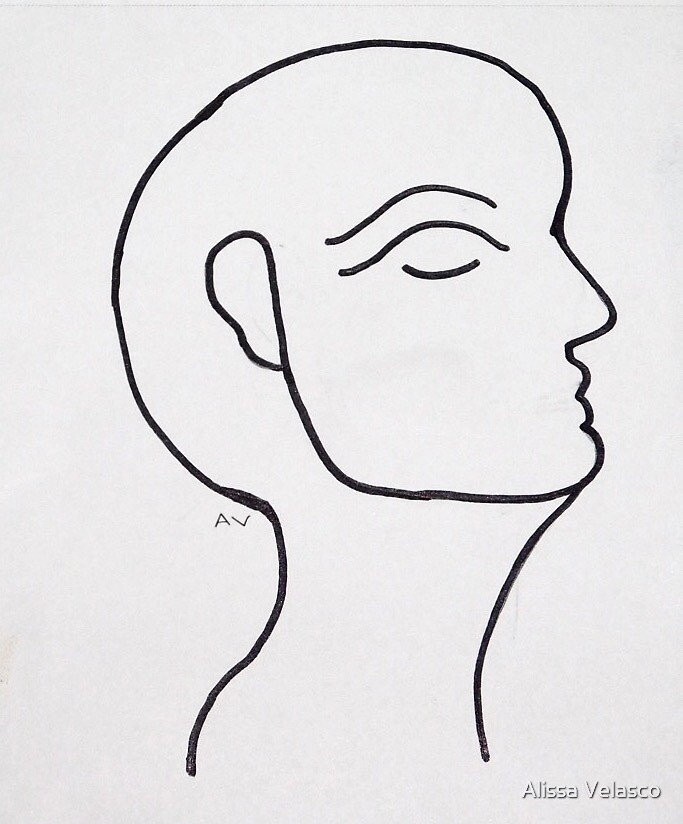 The Woman of the Face by Alissa Velasco