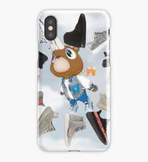 "Yeezy Graduation Clock v. ""Sky"" iPhone Case/Skin"