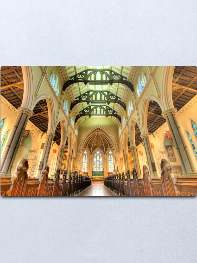 Alternate view of St James Cathedral, Toronto Metal Print