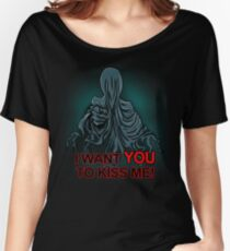 I want you to kiss me Women's Relaxed Fit T-Shirt