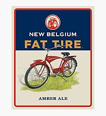 New Belgium Fat Tire  Photographic Print