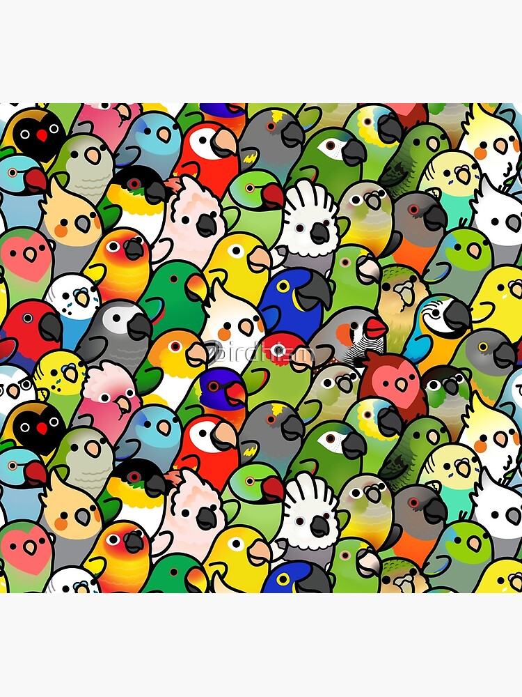 Everybirdy Pattern by birdhism