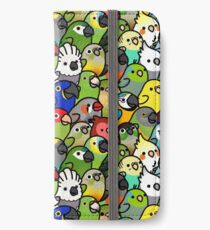 Everybirdy Muster iPhone Flip-Case/Hülle/Skin