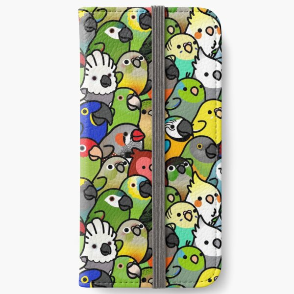 Everybirdy Pattern iPhone Wallet