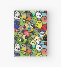 Everybirdy Pattern Hardcover Journal