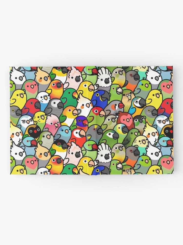 Alternate view of Everybirdy Pattern Hardcover Journal
