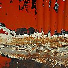 orange planet by Lynne Prestebak